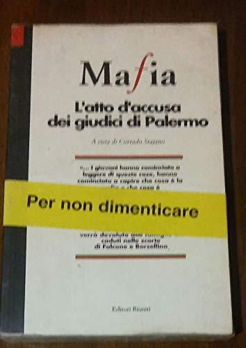 9788835936763: Mafia. L'atto d'accusa dei giudici di Palermo