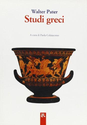 Studi greci.: Pater,W.