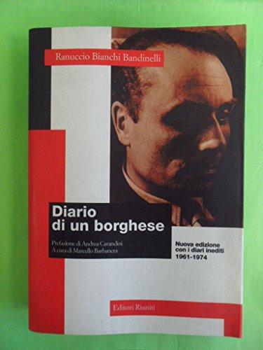 9788835940425: Dal diario di un borghese (Il caso italiano) (Italian Edition)