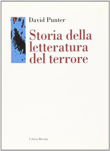 9788835943631: Storia della letteratura del terrore. Il «Gotico» dal Settecento a oggi