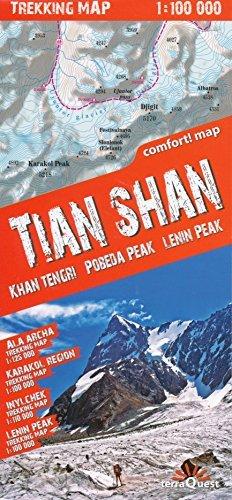 9788836115532: Tian Shan (Kyrgyzstan) 1:100 000 Trekking Map, laminated, GPS-compatible