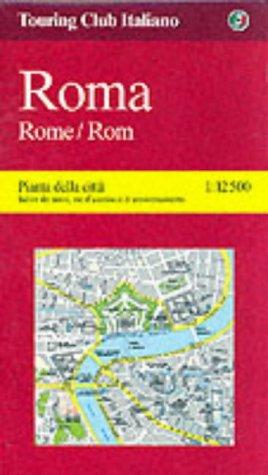 9788836505838: Rome Street Atlas (City Map) (Italian Edition)