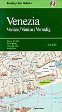 9788836506019: Venezia, piante di città : 1:5 000 =: Venice, town plans : 1:5 000 (City Map) (Italian Edition)
