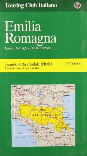 9788836517282: Emilia/Romagna (LA Spezia, Bologna, Ravenna) (Regional Maps)