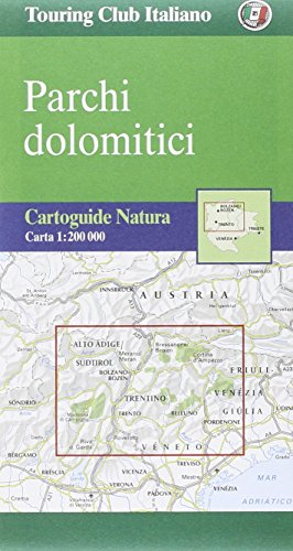 9788836519262: Dolomites, Tourist Map & Guide