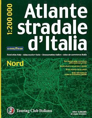 9788836527557: Atlante Stradale D'Italia: Nord - TCI.A1 (Atlanti Stradali D'Italia)
