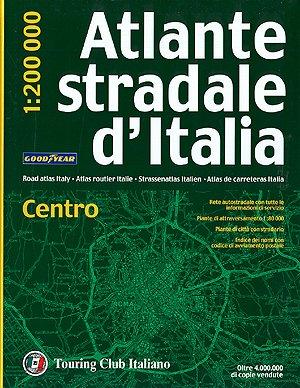 9788836527564: Atlante Stradale D'italia: Centro - Tci.a2 (Atlanti Stradali D'italia)