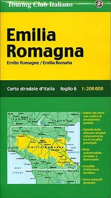 9788836528226: Emilia Romagna 1:200.000