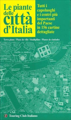 9788836528738: Atlante delle città d'Italia
