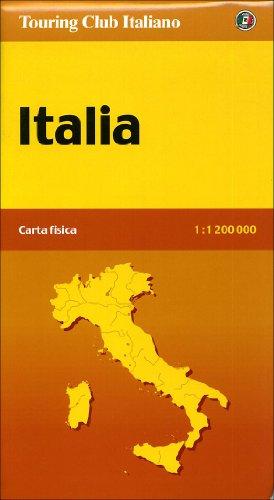 9788836536870: Italia fisica 1:1.200.000