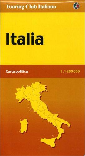 9788836536887: Italia politica 1:1.200.000