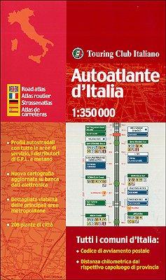 Autoatlante d'Italia 1:350.000 (Atlanti stradali): Collectif