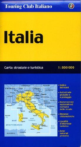 9788836542109: Italia 1:800.000