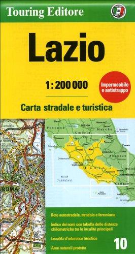 Lazio 10 tci (r) wp (Regional Road Map) - TCI