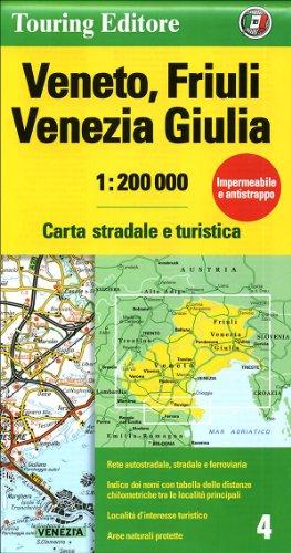 Veneto/Friuli-Venezia Giulia (Regional Road Map) - Touring Club Italiano