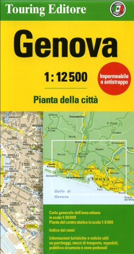9788836551637: Genoa Tci R Wp (English and French Edition)