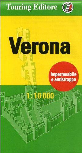 9788836555093: Verona Centrocità, plano callejero impermeable. Escala 1:10.000 Touring Clun Italiano (Centrocittà pocket)