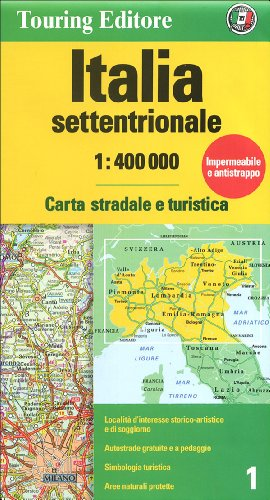 9788836559619: Italy, Northern 1 (Italian Edition)