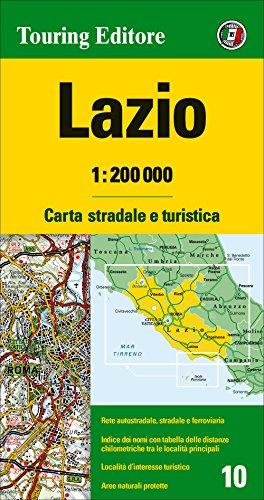 9788836563012: Lazio 1:200.000. Carta stradale e turistica. Ediz. multilingue (Carte regionali 1:200.000)