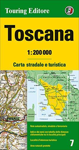 9788836563081: Toscana 1:200.000. Ediz. multilingue (Carte regionali 1:200.000)