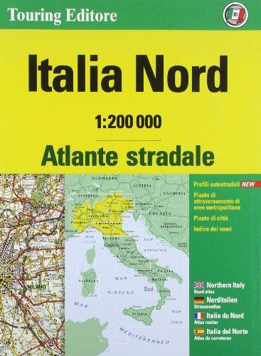 9788836563739: Atlante stradale Italia Nord 1:200.000. Ediz. multilingue (Atlanti stradali)