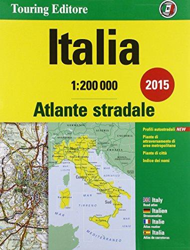 9788836563760: Atlante stradale Italia 1:200.000. Ediz. italiana, inglese, francese, tedesca e spagnola (Atlanti stradali d'Italia)