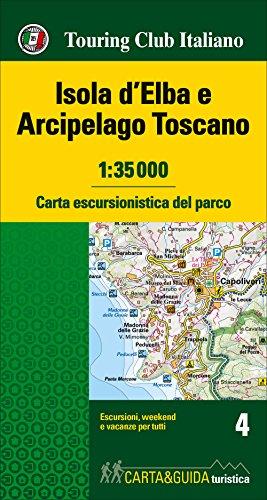 Isola d'Elba & Arcipelago Toscano map&guide 2017: Touring Editore