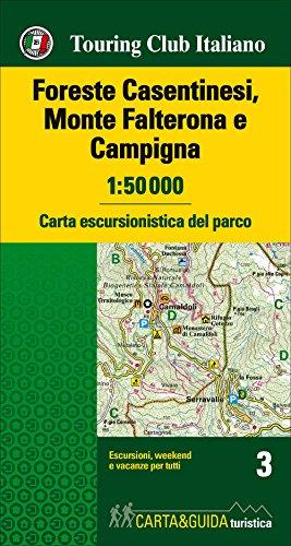 Foreste Casentinesi - Monte Falterona map&guide 2017: Touring Editore