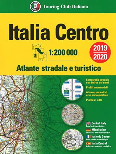 9788836573240: Atlante stradale Italia Centro 1:200.000. Ediz. multilingue