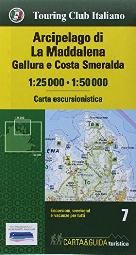 Arcipelago di La Maddalena map&guide 2018 (Mixed: Touring Editore