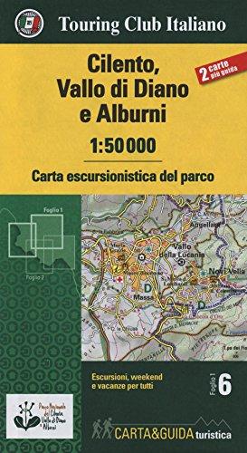 Cilento, Vallo di Diano e Alburn map&guide: Touring Editore