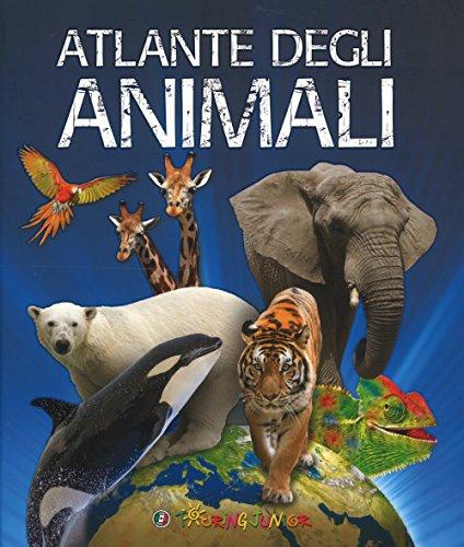 9788836573622: Atlante degli animali. Ediz. a colori