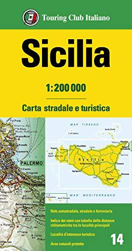 9788836576425: Sicilia 1:200.000. Carta stradale e turistica