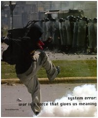 9788836608423: System Error: War is a Force That Gives Us Meaning (English and Italian Edition)