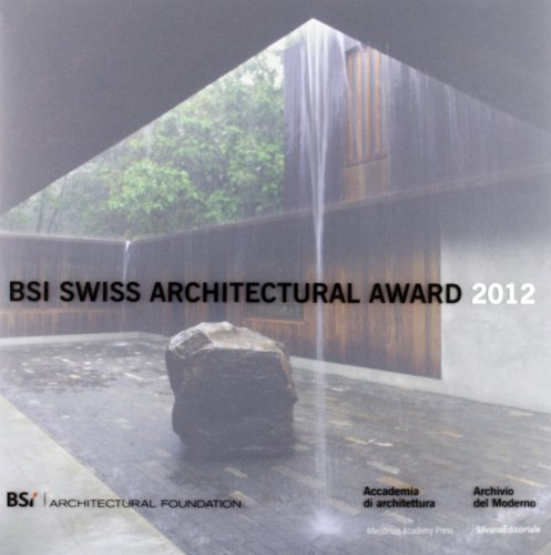 9788836624775: BSI Swiss Architectural Award 2012. Ediz. italiana ed inglese