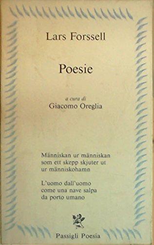 Poesie.: Forssell,Lars.