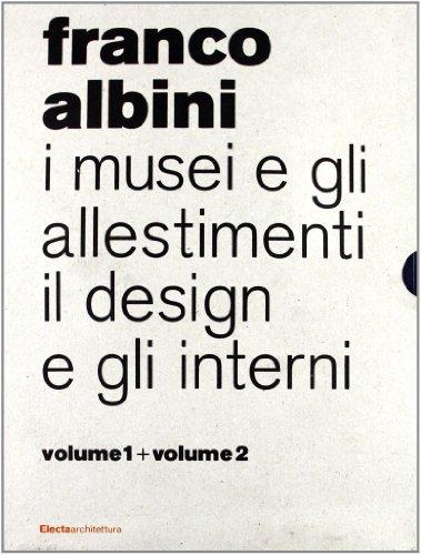 9788837068356: I musei e gli allestimenti di Franco Albini