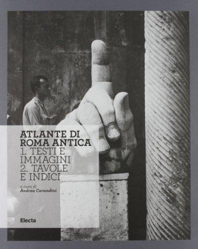 9788837085100: Atlante di Roma antica