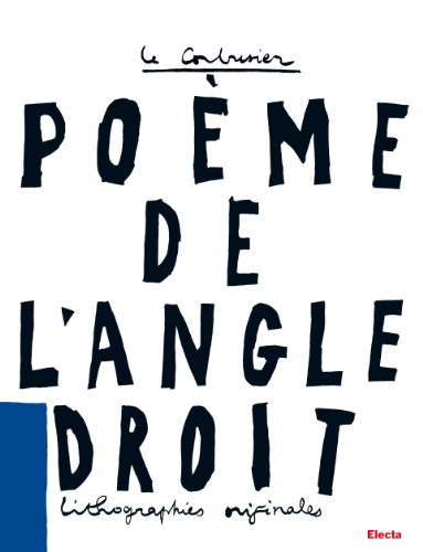9788837091743: Le Poeme De L 'angle Droit: Lithographies Originales (French and Italian Edition)