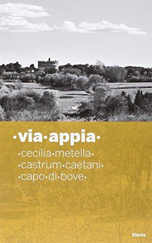 9788837099428: Via Appia (Soprintendenza archeologica di Roma)
