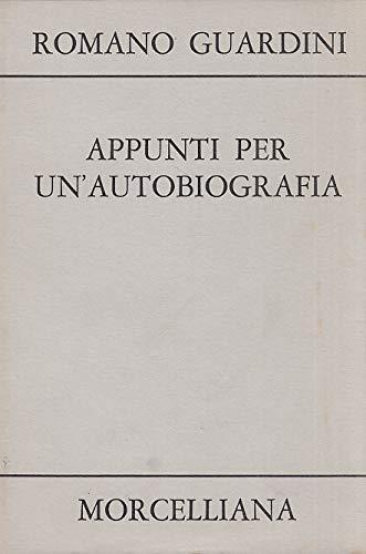 9788837212940: Appunti per un'autobiografia