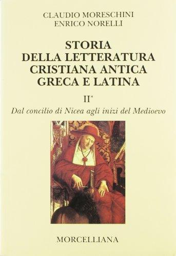 Storia della letteratura cristiana antica greca e latina (8837216106) by Claudio Moreschini
