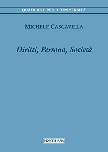 9788837227852: Diritti, persona, societ�