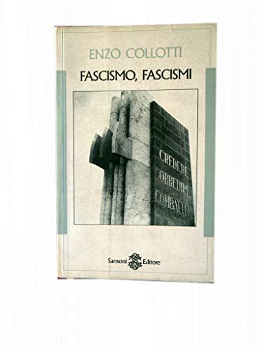 9788838316180: Fascismo, Fascismi