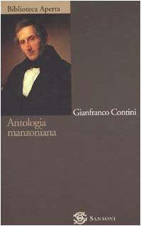 9788838319235: Antologia manzoniana