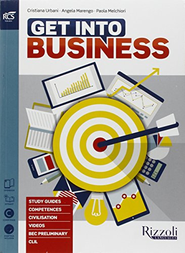 9788838324727: Get into Business. Con volume, CD, Facts and figures e Extrakit - Openbook [Lingua inglese]