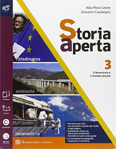 9788838324857: Storia aperta classe. Con extrakit-Openbook. Per le Scuole superiori. Con e-book. Con espansione online: 3