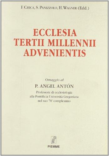 Ecclesia tertii millenni advenientis.: Panizzolo, Sandro.