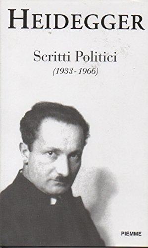 9788838430657: Scritti politici (1933-1966)