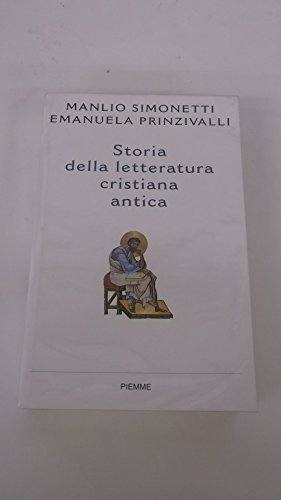 9788838441745: Storia della letteratura cristiana antica